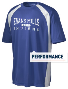 Evans Mills Primary School Indians Men's Dry Zone Colorblock T-Shirt