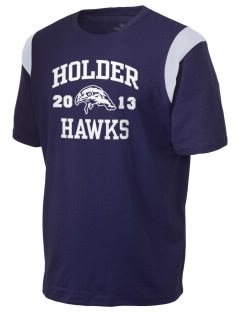 Holder Elementary School Hawks Holloway Men's Rush T-Shirt