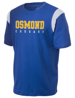 Osmond Elementary School Cougars Holloway Men's Rush T-Shirt