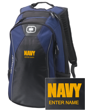 U.S. Navy Embroidered OGIO Marshall Backpack | Prep Sportswear