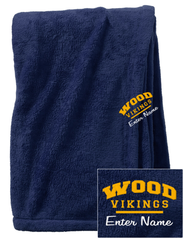 Archbishop wood high school vikings embroidered augusta