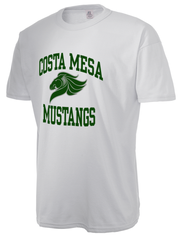 costa mesa high school mustangs russell athletic men 39 s 5