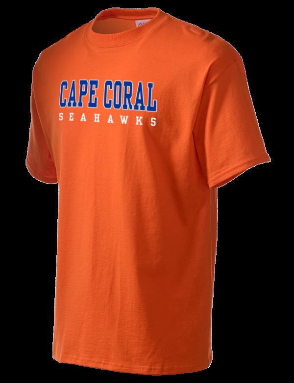 cape coral high school seahawks men 39 s essential t shirt