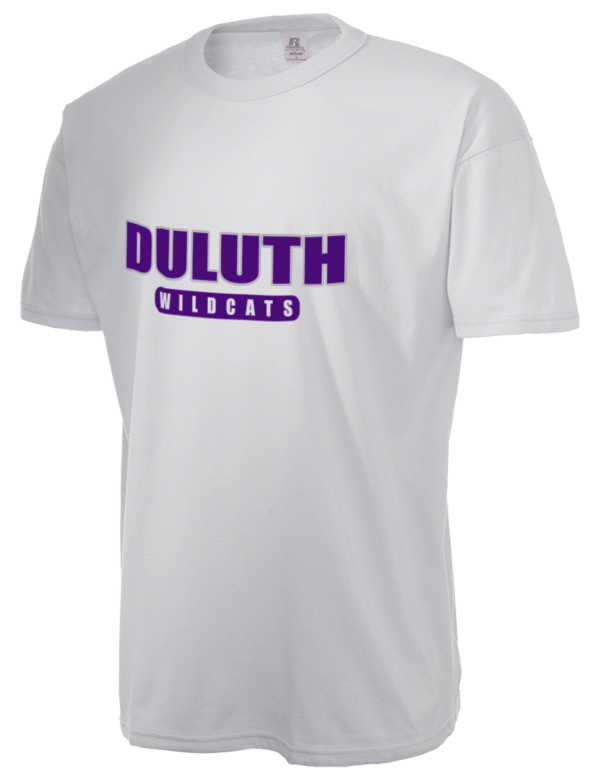 Duluth high school wildcats russell athletic men 39 s for Duluth t shirt commercial