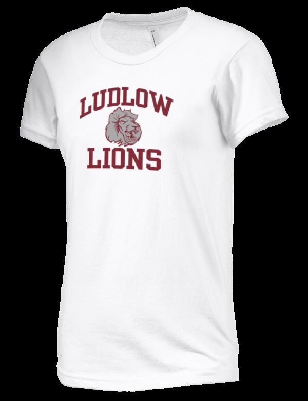 Ludlow Senior High School Lions American Apparel Junior 39 S