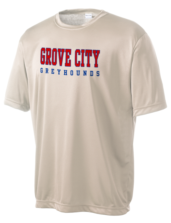 Grove city high school greyhounds men 39 s competitor for T shirts with city names