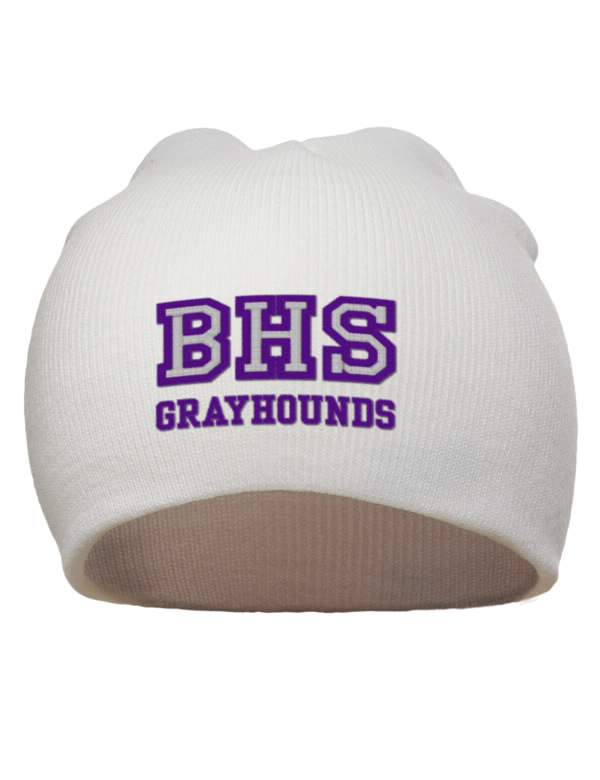 Burlington high school grayhounds embroidered acrylic