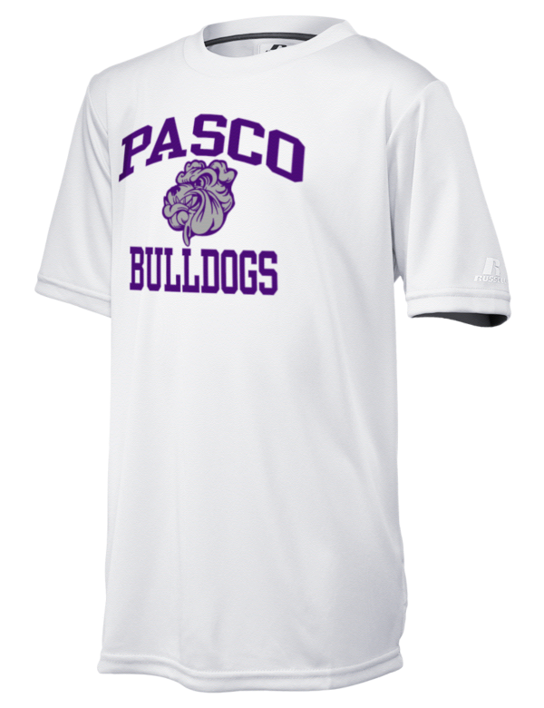 Pasco high school bulldogs russell athletic youth core for Tenth avenue north t shirts