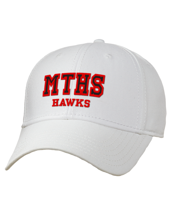 Mountlake terrace high school hawks embroidered superior for 43591 white cap terrace