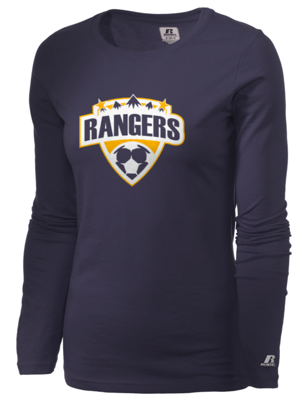 Naches valley high school naches rangers russell athletic for Rangers t shirts women s
