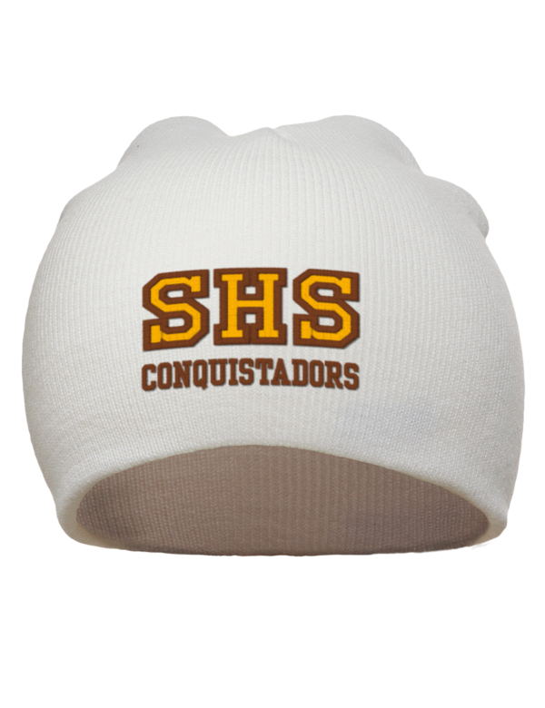 Serra High School Conquistadors Embroidered Acrylic Beanie