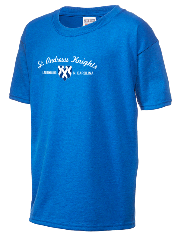 St andrews university knights jerzees dri power active for University t shirts with your name