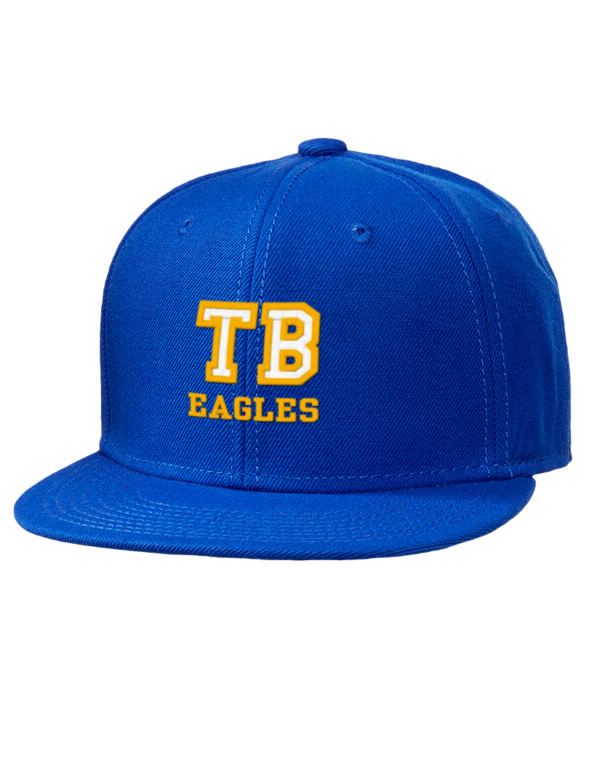 Trinity baptist college eagles embroidered wool blend flat