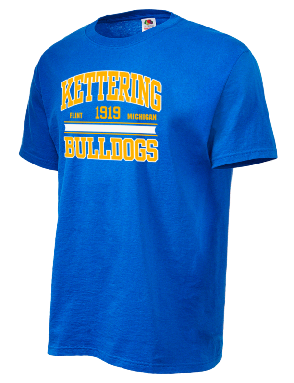 Kettering university bulldogs t shirts prep sportswear for University t shirts with your name