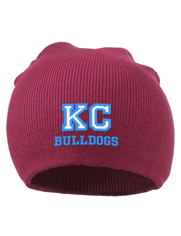 Knoxville college bulldogs embroidered acrylic beanie