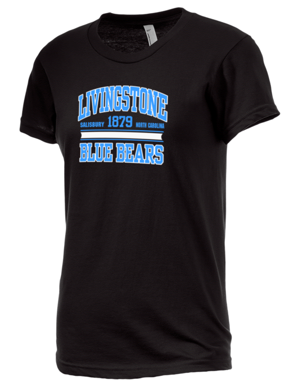 Livingstone college blue bears american apparel junior 39 s for American apparel men s fine jersey short sleeve tall t shirt
