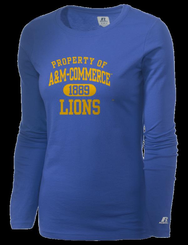 Texas a m university commerce lions women 39 s t shirts for Texas a m golf shirt