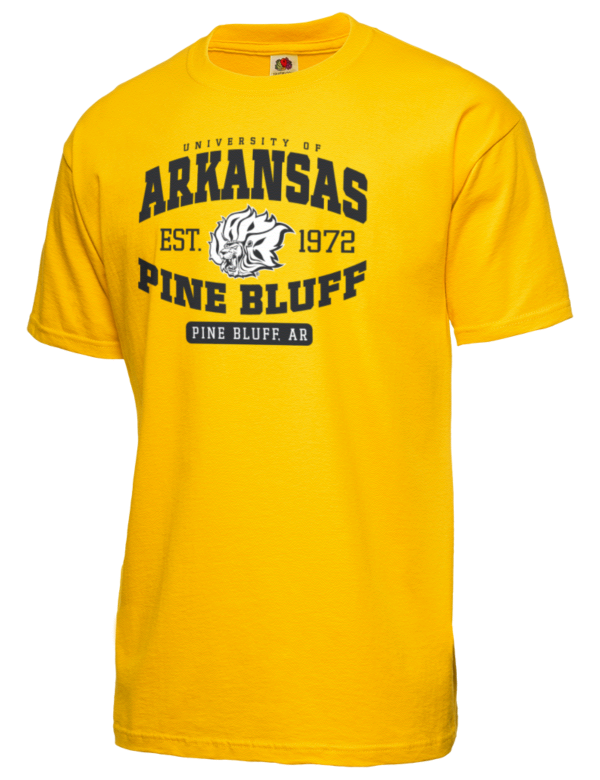 University of arkansas pine bluff golden lions t shirts for University t shirts with your name
