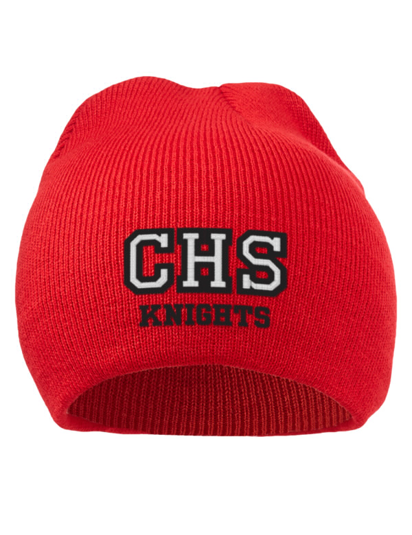 Creekside high school knights embroidered acrylic beanie