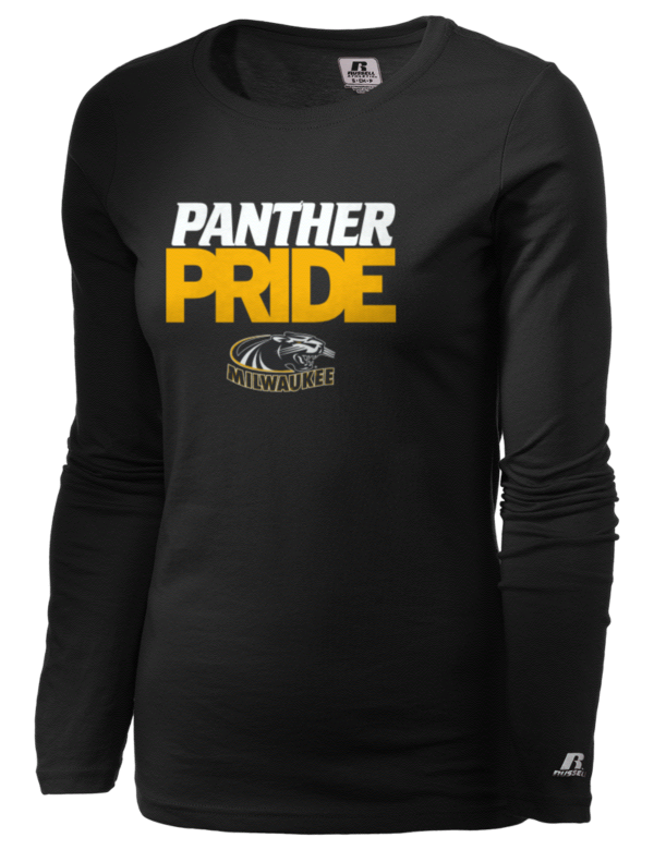 University of wisconsin milwaukee panthers russell for University of wisconsin t shirts