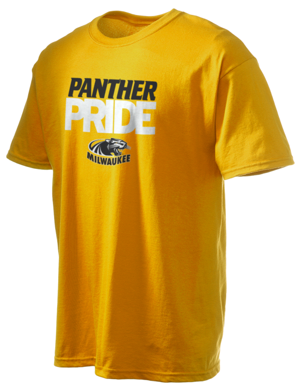 University of wisconsin milwaukee panthers gildan men 39 s for University of wisconsin t shirts