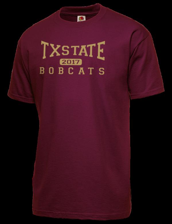 Texas state university bobcats men 39 s t shirts prep for Texas a m golf shirt
