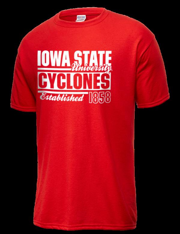 Iowa state university cyclones jerzees men 39 s performance t for University of iowa shirts