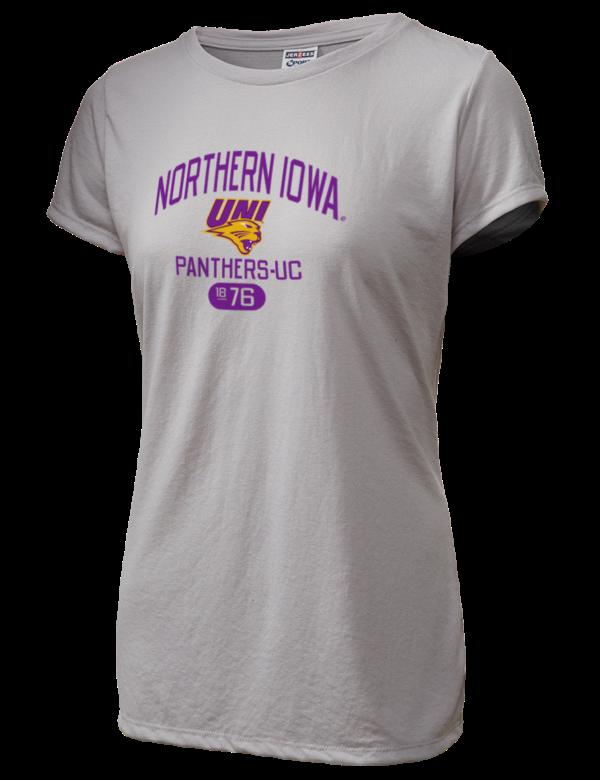 University of northern iowa panthers women 39 s t shirts for University of iowa shirts