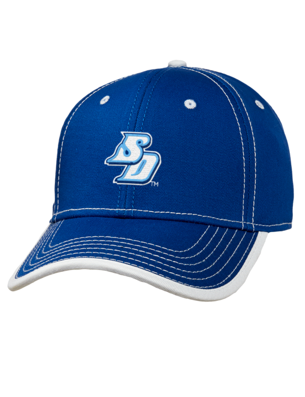 University Of San Diego Toreros Embroidered Cotton Twill