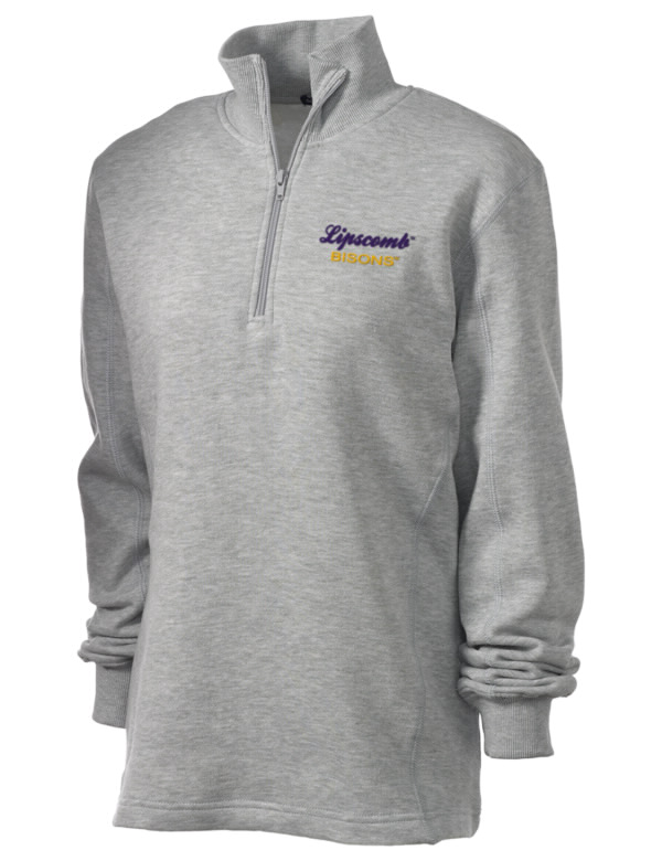Lipscomb university bisons embroidered women s zip