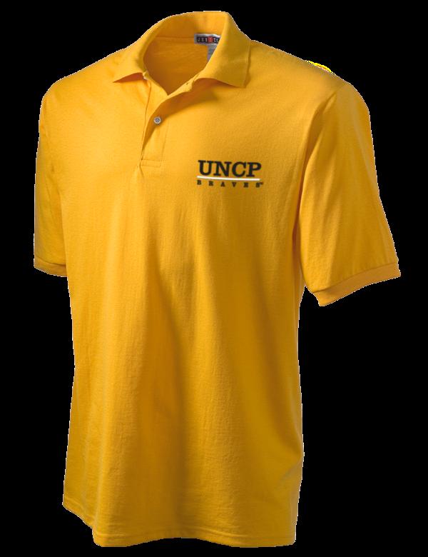 University of north carolina at pembroke braves golf for University of north carolina t shirts