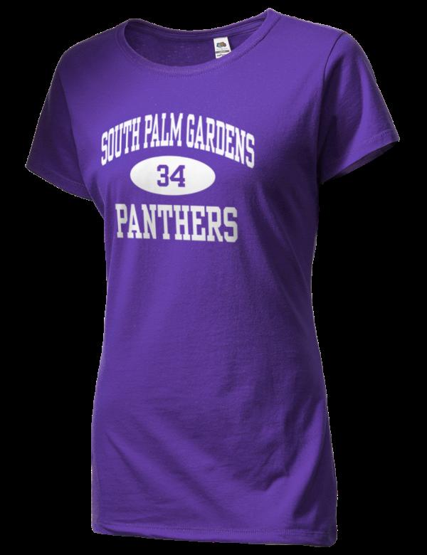 South Palm Gardens High School Panthers Sofspun Women 39 S Junior Fit Cotton T Shirt Prep