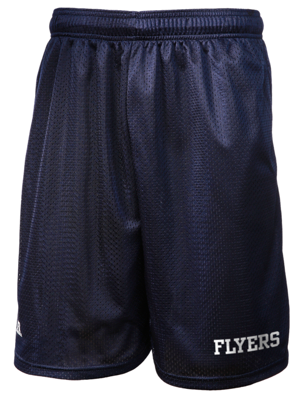 framingham high school flyers russell athletic men 39 s 9 inseam mesh shorts with pockets prep. Black Bedroom Furniture Sets. Home Design Ideas