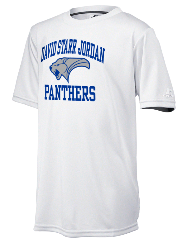 David starr jordan high school panthers russell athletic for Long beach ny shirts