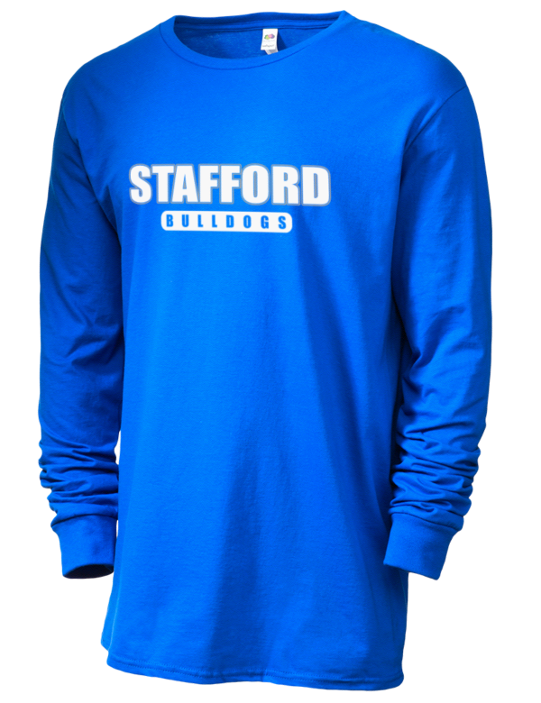 Stafford high school bulldogs sofspun men 39 s cotton for Stafford t shirts big and tall