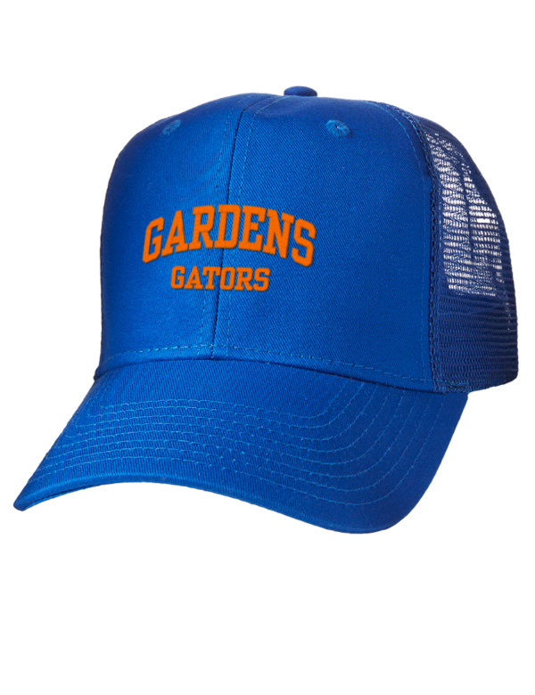 Palm Beach Gardens High School Gators Embroidered Cotton