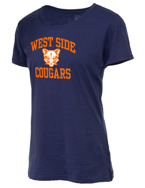 West Side High School Cougars Fruit Of The Loom Women 39 S