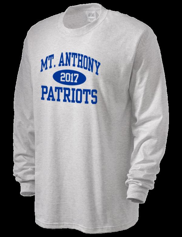 Mount Anthony Union High School Patriots Men's Long Sleeve T-Shirt | Prep Sportswear