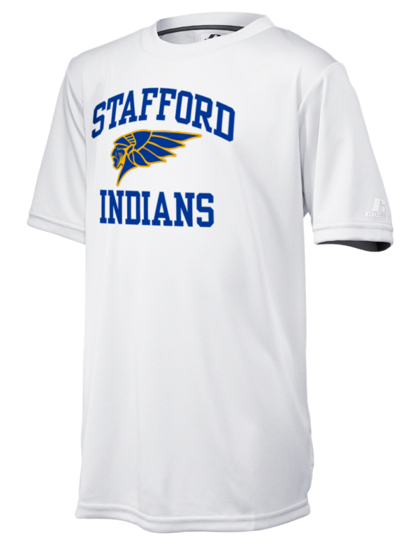 Stafford senior high school indians russell athletic youth for Stafford t shirts big and tall