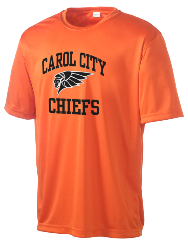 Miami carol city high school chiefs men 39 s competitor for T shirts with city names