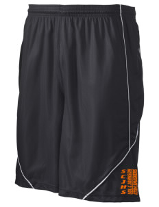 "loadanim Sol C Johnson High School Atom Smashers Men's Posicharge Mesh Reversible Short, 9"" Inseam"