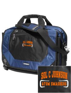loadanim Sol C Johnson High School Atom Smashers Embroidered OGIO Corporate City Corp Messenger Bag