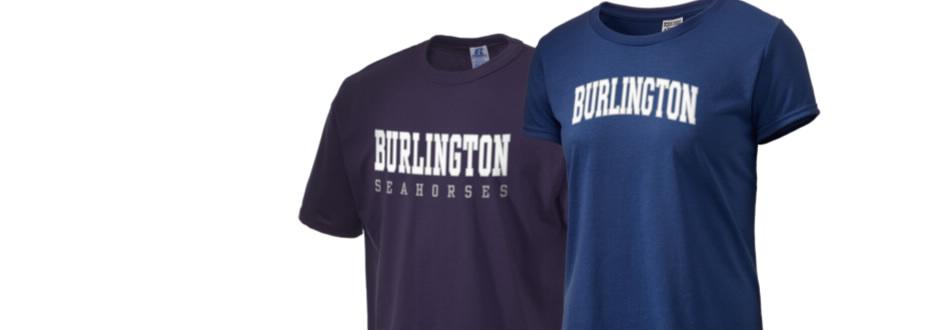 Burlington high school seahorses apparel store