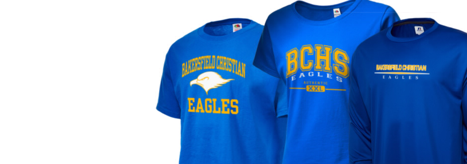 Bakersfield christian high school eagles apparel store T shirt outlet bakersfield ca