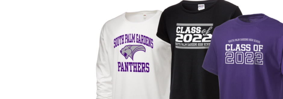 South Palm Gardens High School Panthers Apparel Store Weslaco Texas Prep Sportswear