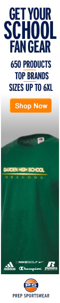 Alumni apparel for Garden High School, Oakwood, Virginia