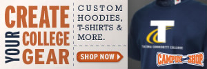 TacomaCCBookstore - Custom Sportswear, Merchandise & Apparel including T-Shirts, Sweatshirts, Jerseys & more