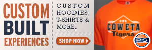 Coweta High School Store - Custom Sportswear, Merchandise & Apparel including T-Shirts, Sweatshirts, Jerseys & more