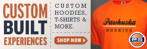 Pawhuska High School Store - Custom Sportswear, Merchandise & Apparel including T-Shirts, Sweatshirts, Jerseys & more