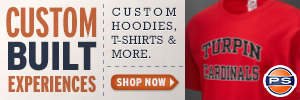 Turpin High School Store - Custom Sportswear, Merchandise & Apparel including T-Shirts, Sweatshirts, Jerseys & more
